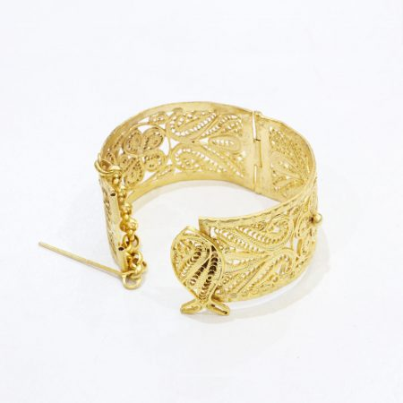 Manchette Alyssa - El Khomssa Bijoux & Accessoires Traditionnels
