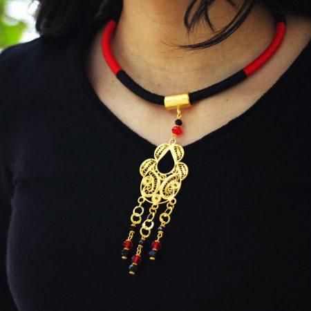 Collier Boudour - El Khomssa Bijoux & Accessoires Traditionnels