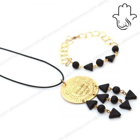 Collier & Bracelet par El Khomssa Bijoux & Accessoires Traditionnels & Artisanales