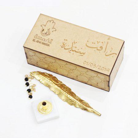 stylo mariage la reine - El Khomssa Bijoux & Accessoires Traditionnels