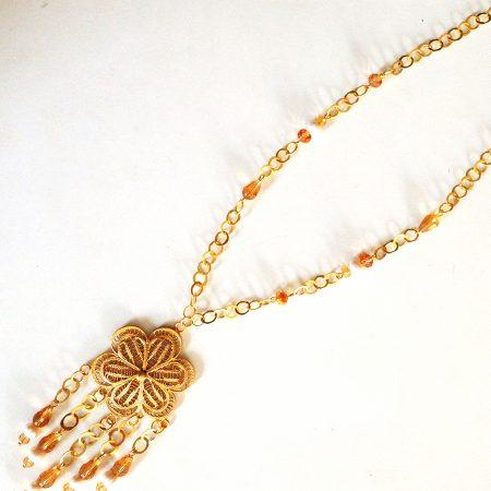 Collier Maya par El Khomssa Bijoux & Accessoires Traditionnels & Artisanales