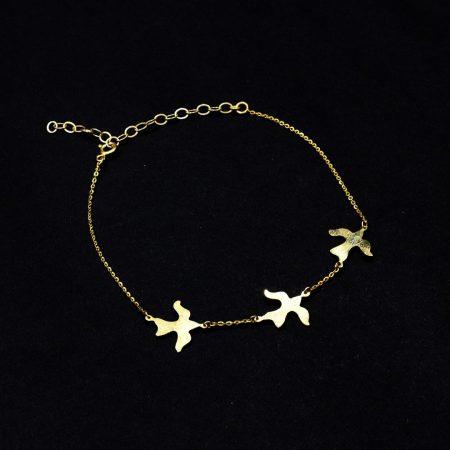 Bracelet de cheville - Doves - El Khomssa bijoux traditionnels