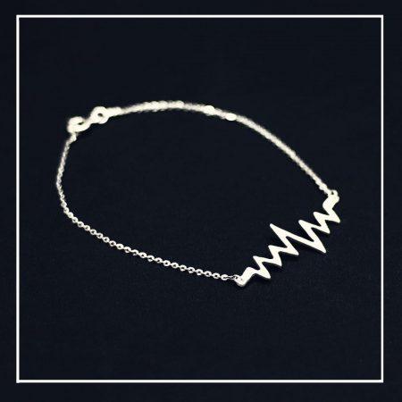 Bracelet de cheville - Battement du cœur - El Khomssa bijoux traditionnels