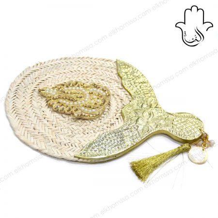 Éventail Gharam - El Khomssa Bijoux et accessoires Traditionnels