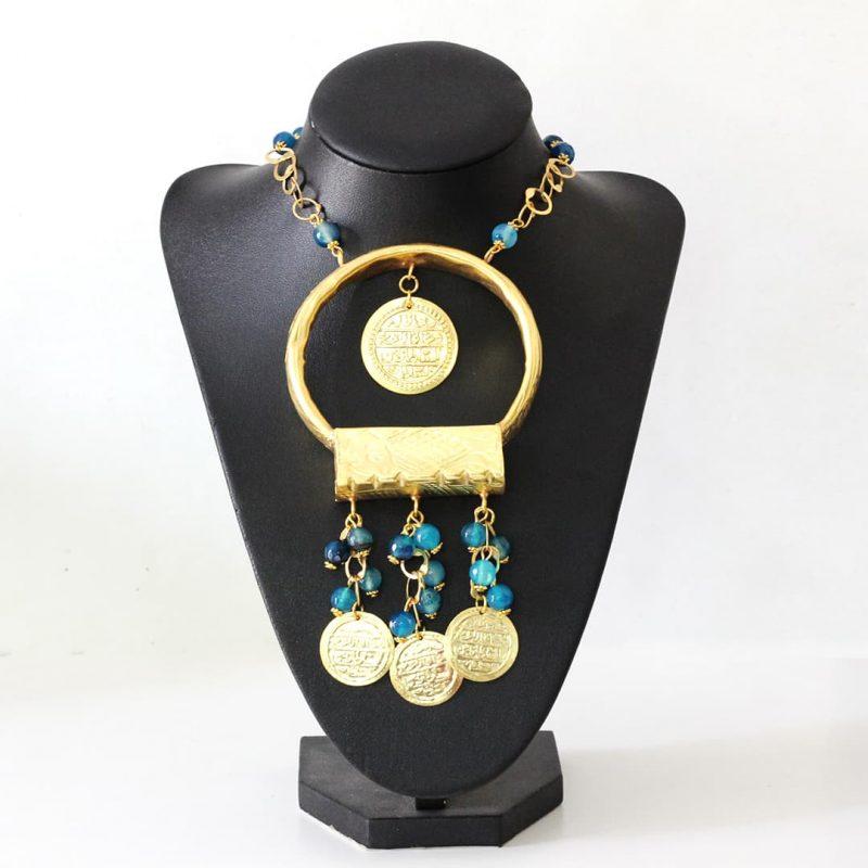 Collier Kholkhal Liviane - El Khomssa Bijoux & Accessoires Tradtionnels
