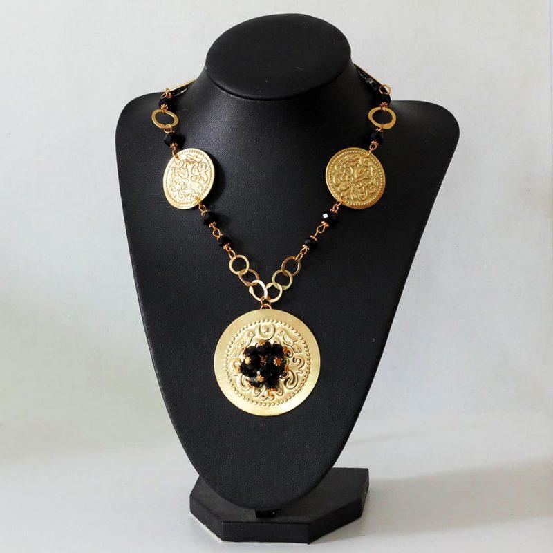 Collier Suzanne - El Khomssa Bijoux & Accessoires Tradtionnels