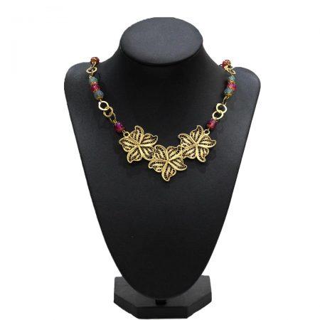 Collier Florelle - El Khomssa Bijoux & Accessoires Tradtionnels