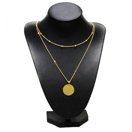Collier Luxe Argent - El Khomssa Bijoux & Accessoires Traditionnels
