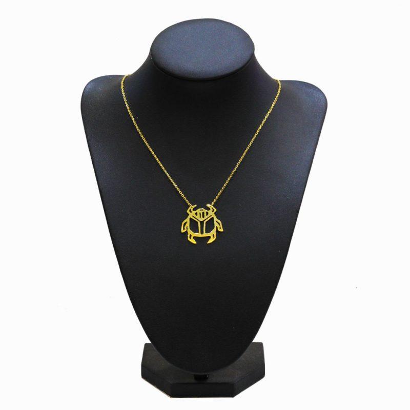 Collier Scarabée - El Khomssa Bijoux & Accessoires Traditionnels