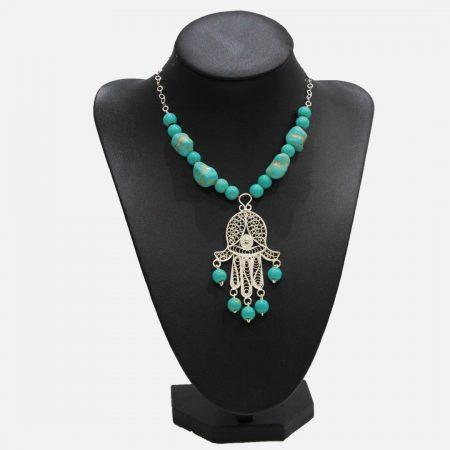 Collier Rita - El Khomssa Bijoux & Accessoires Traditionnels