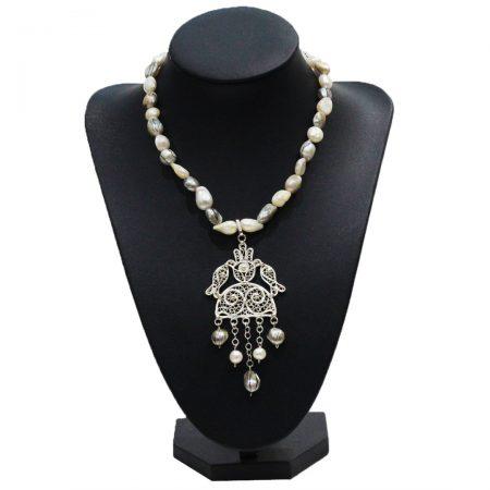 Collier Elisa - El Khomssa Bijoux & Accessoires Traditionnels