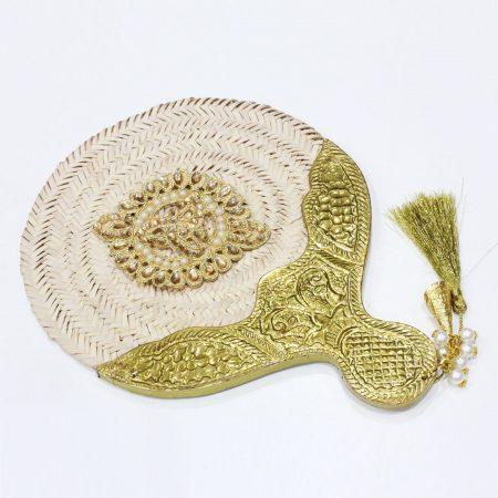 Éventail jinan - El Khomssa Bijoux & Accessoires Traditionnels