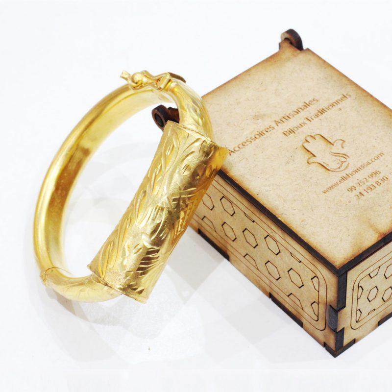 Manchette kholkhal - El Khomssa Bijoux & Accessoires Traditionnels