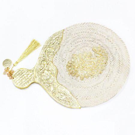Eventail Iris - El Khomssa Bijoux & Accessoires Traditionnels
