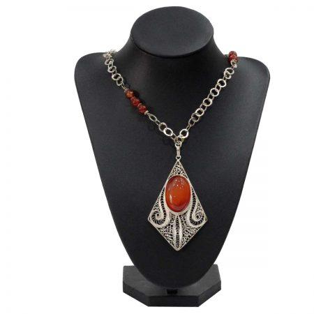 Collier Izza - El Khomssa Bijoux & Accessoires Tradtionnels