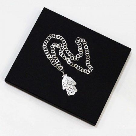 Collier Main de Fatma - El Khomssa Bijoux & Accessoires Tradtionnels
