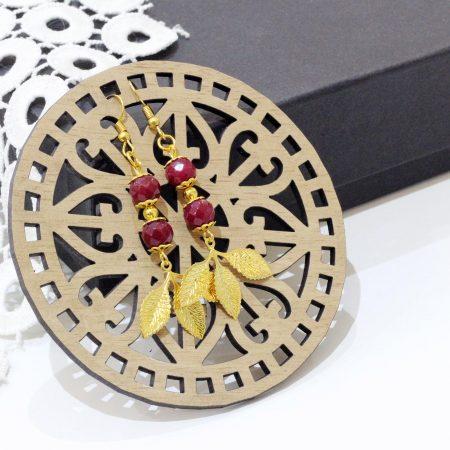 Boucles d'oreilles Rafif - El Khomssa Bijoux & Accessoires Tradtionnels