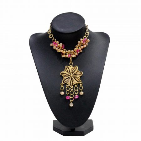 collier yasamine - El Khomssa Bijoux & Accessoires Tradtionnels